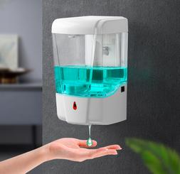 IN STOCK 700 ML Hands Free Automatic Liquid Soap Dispenser W