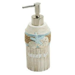 Zenna Home, India Ink Seaside Serenity Lotion or Soap Dispen