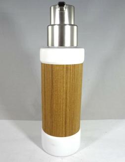 inter design soap dispenser with white ceramic