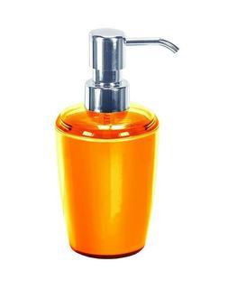 Kleine Wolke Joker Orange Soap Dispenser as Plastic Germany