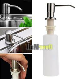 Kitchen Hand Soap Dispenser Plastic Bottle Sink Liquid Under