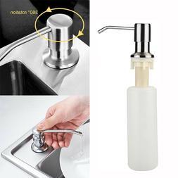 Kitchen Sink Soap Dispenser Built-In Countertop Pump Head Li