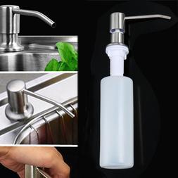 Kitchen Supplies Sink Soap Dispenser Lotion Storage Bottle B