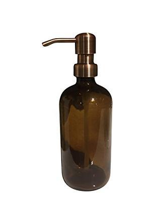 16oz brown hand soap dispenser dish soap