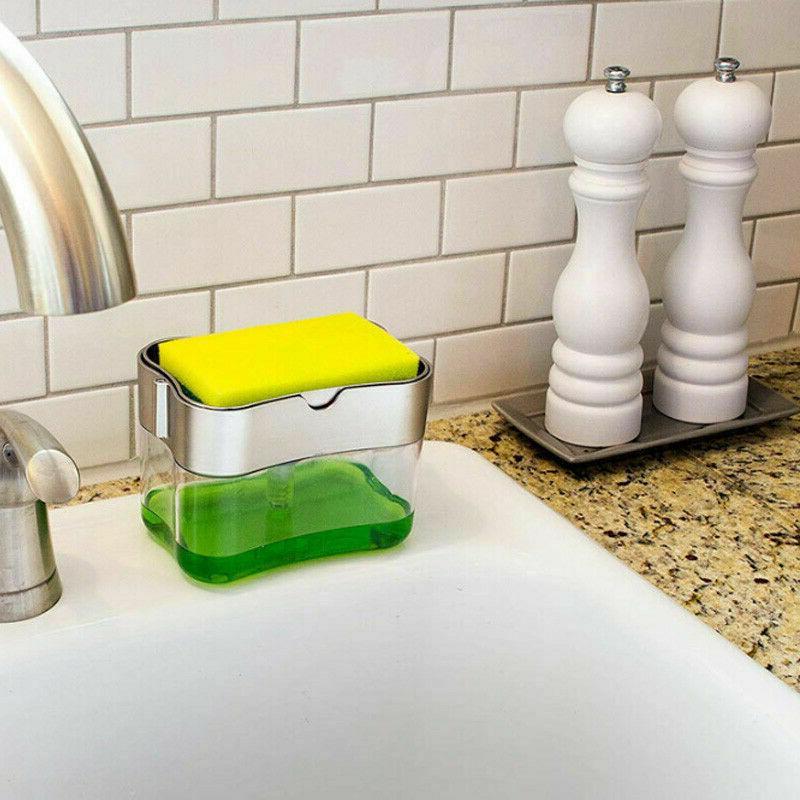 2 in1 Liquid Sponge Countertop Rack