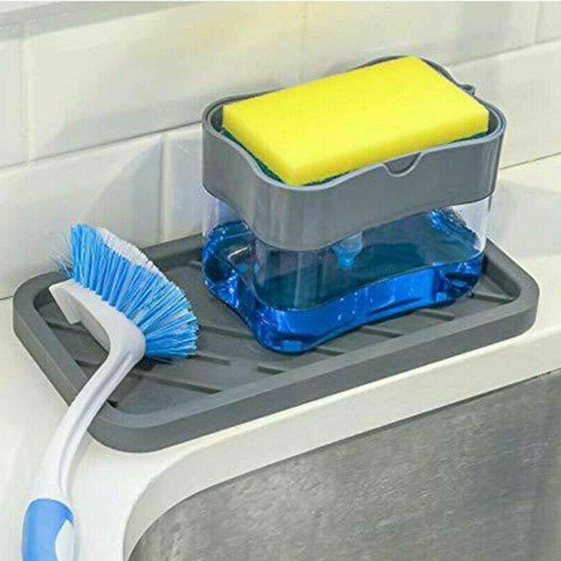 2 in1 Soap Sponge Press