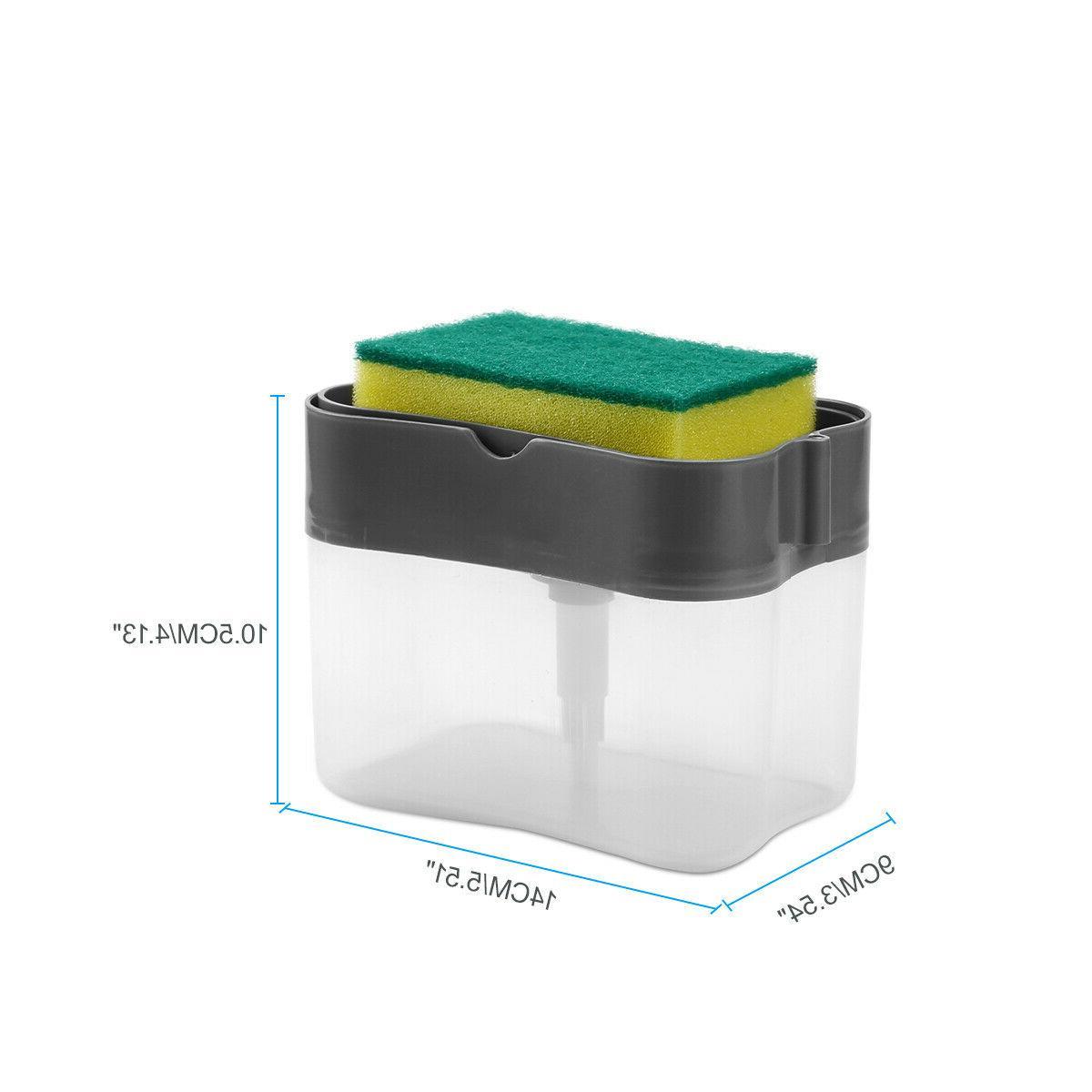 2 Liquid Pump Sponge Rack