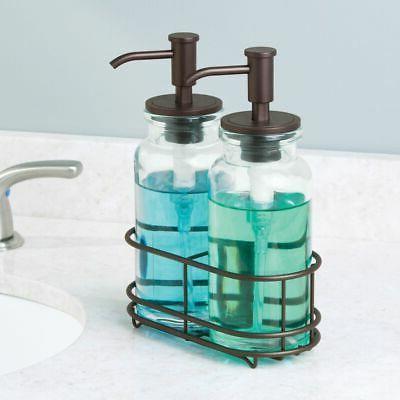 mDesign Pumps Caddy Kitchen, Bathroom