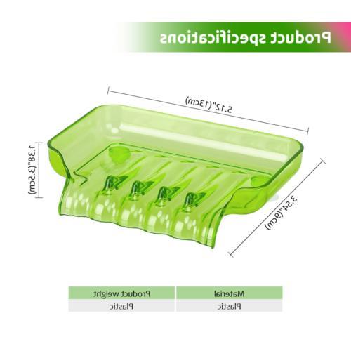 2Pack Soap Case Dish Dispenser Box Container Holder Travel Carry