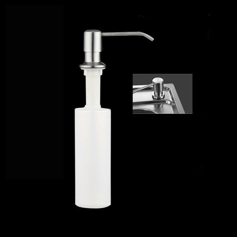 300ML Sink Stainless Kitchen Soap Hand Wash Pump