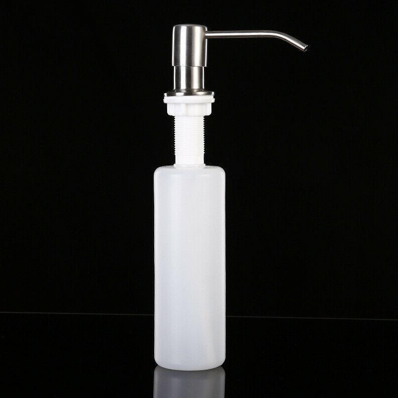 Stainless Steel Kitchen Soap Hand Pump