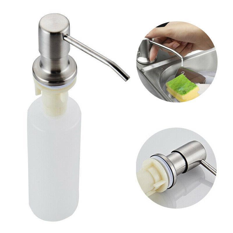 300ml sink soap dispenser stainless steel kitchen