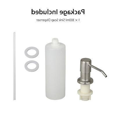 300ML Stainless Soap Dispenser Hand