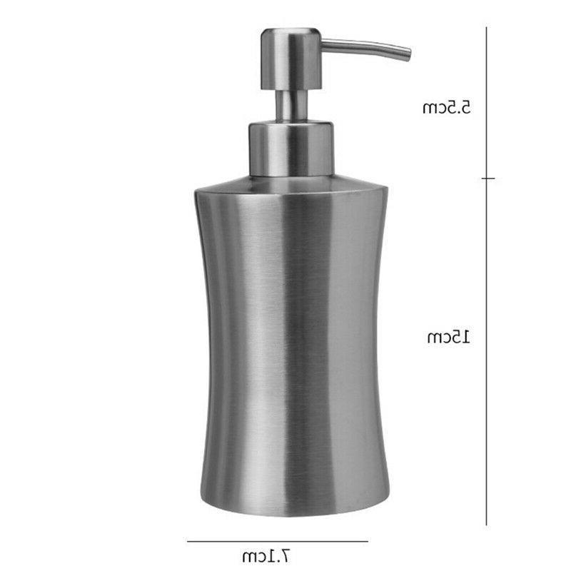 Stainless Pump Liquid Dispenser Bathroom Shower Gel Lotion