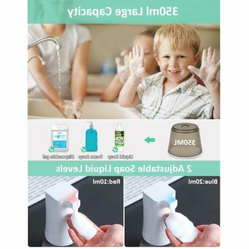 350ML Automatic Foam Soap Alcohol Sprayer IR Washer