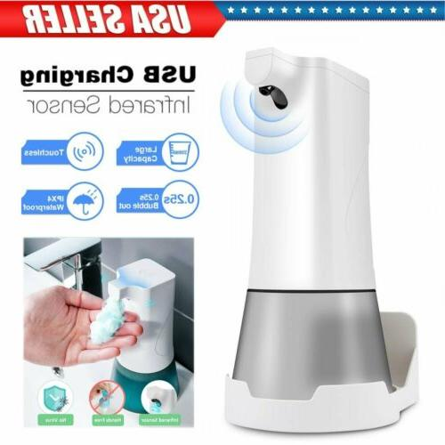 350ml automatic foam soap alcohol sprayer touchless