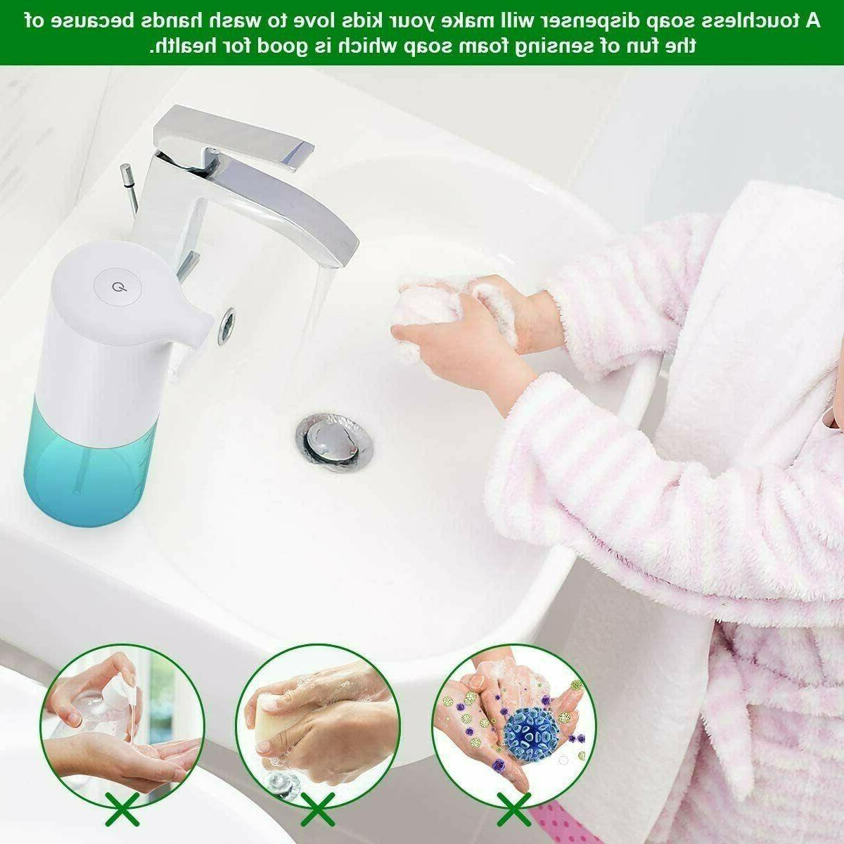350ml Hands-Free Sensor Touchless Foaming Liquid