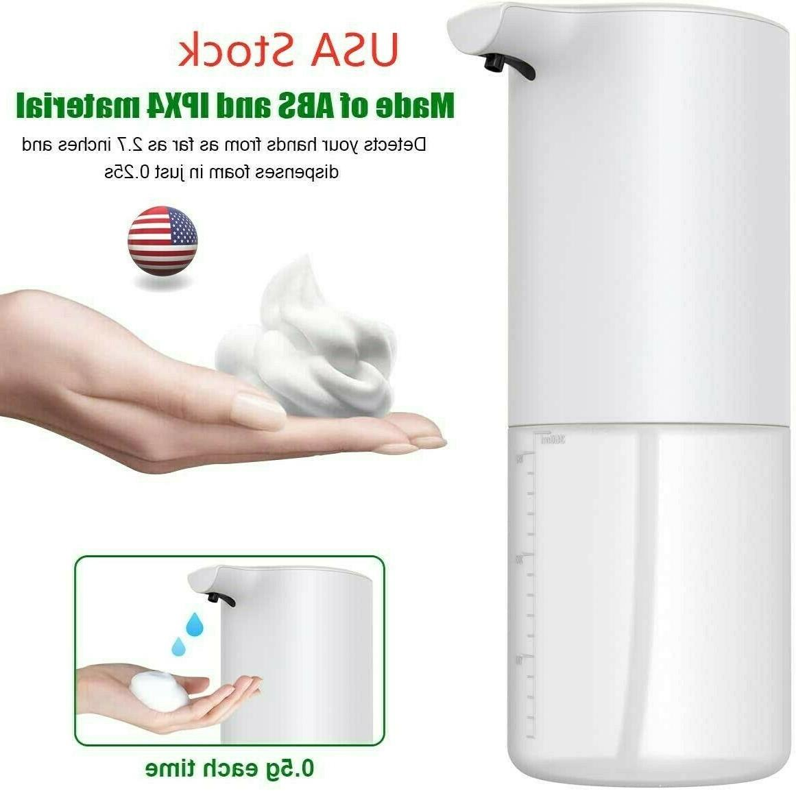350ml Automatic Hands-Free Sensor Touchless Foaming
