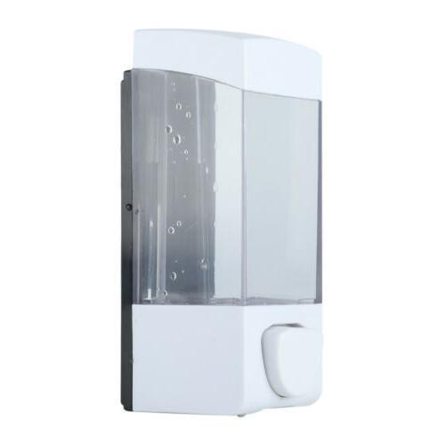 350ml Dispenser Wall Shower Lotion Holder