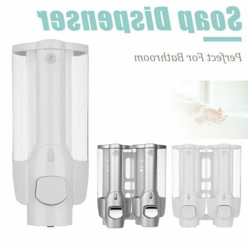 350ML Wall Soap Dispenser Bathroom Shower Shampoo