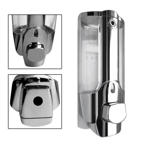 350ML Wall Shower Shampoo Dispenser