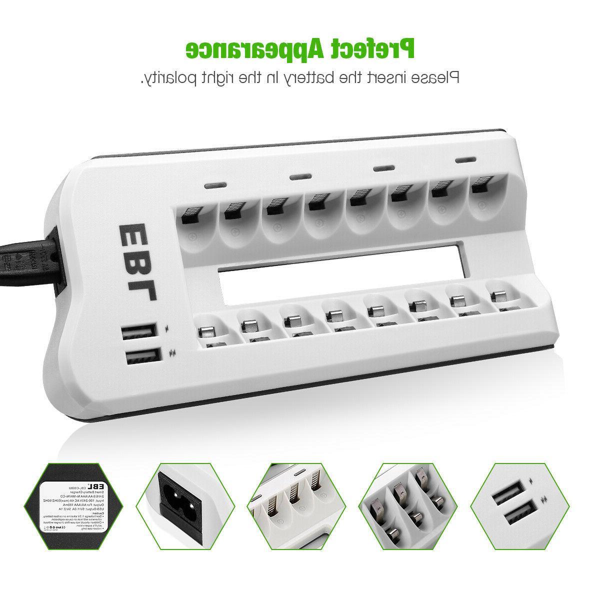 EBL / 8 Smart NI-CD Rechargeable