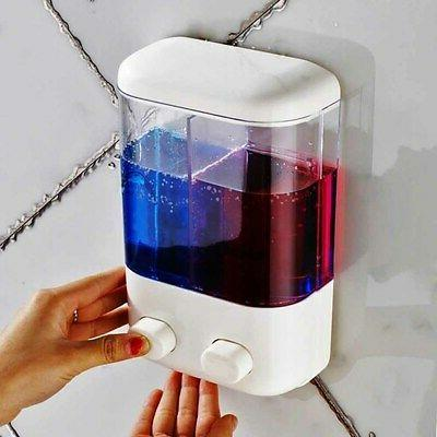 Durable Gel Lotion Shampoo Mount Soap Dispenser Bathroom