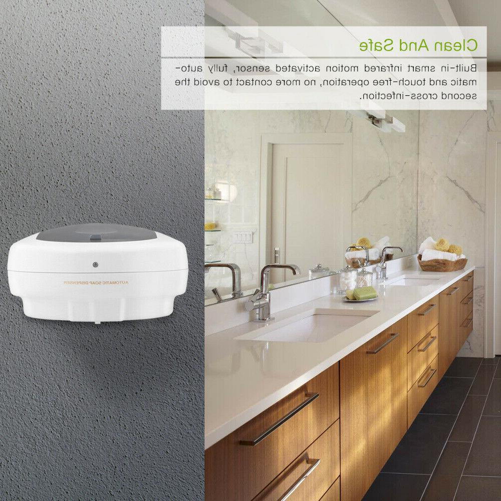 500ml Soap Dispenser Automatic Wall Kitchen
