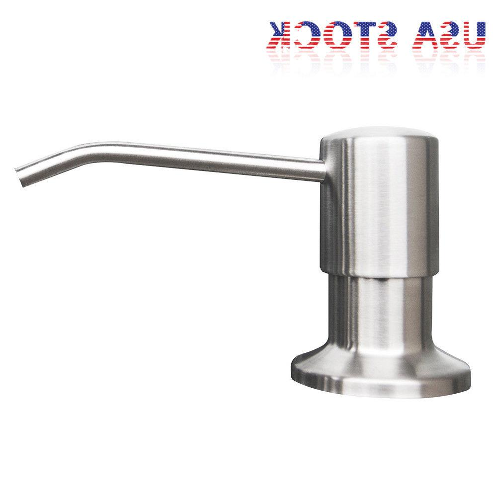 500ML Stainless Soap Bathroom Sink Pump