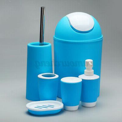 6 PCS Bathroom Tumbler Holder