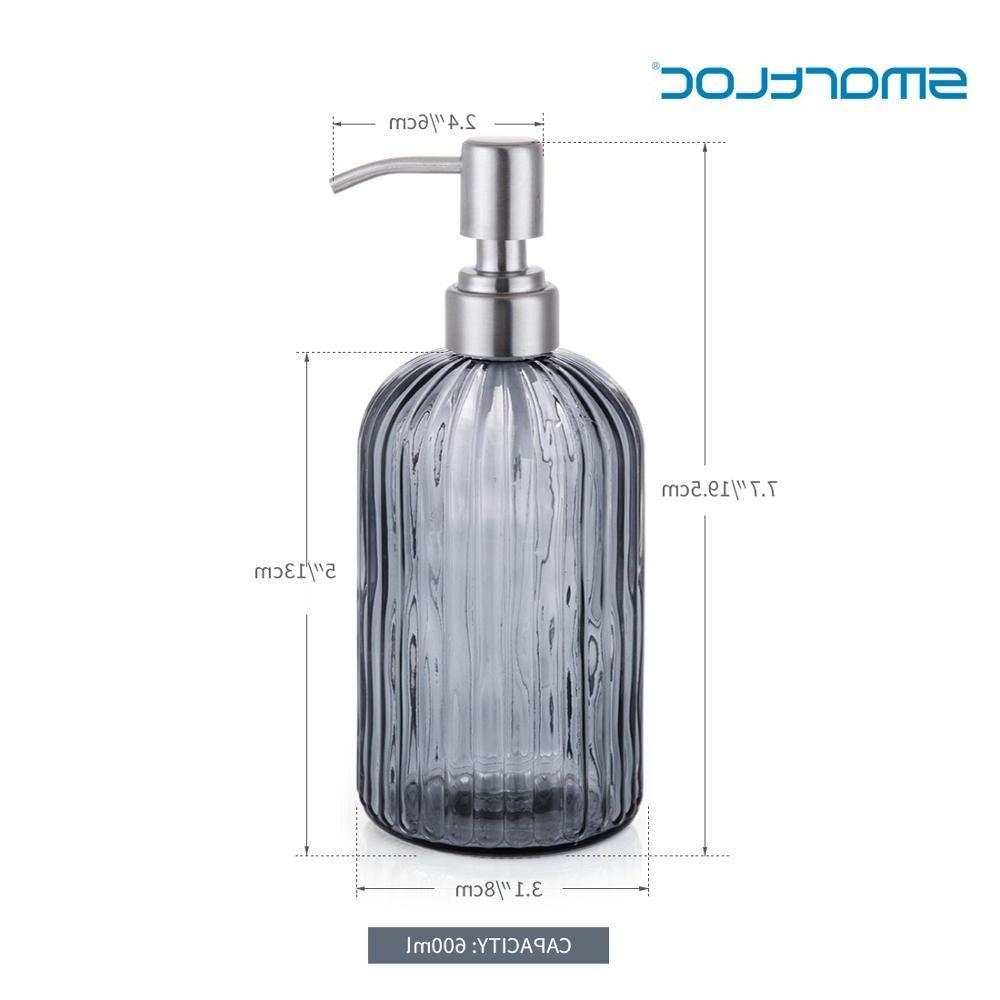 Smartloc Glass liquid <font><b>Dispenser</b></font> Shampoo Bottle <font><b>Storage</b></font> Box Bathroom <font><b>Accessories</b></font> Set