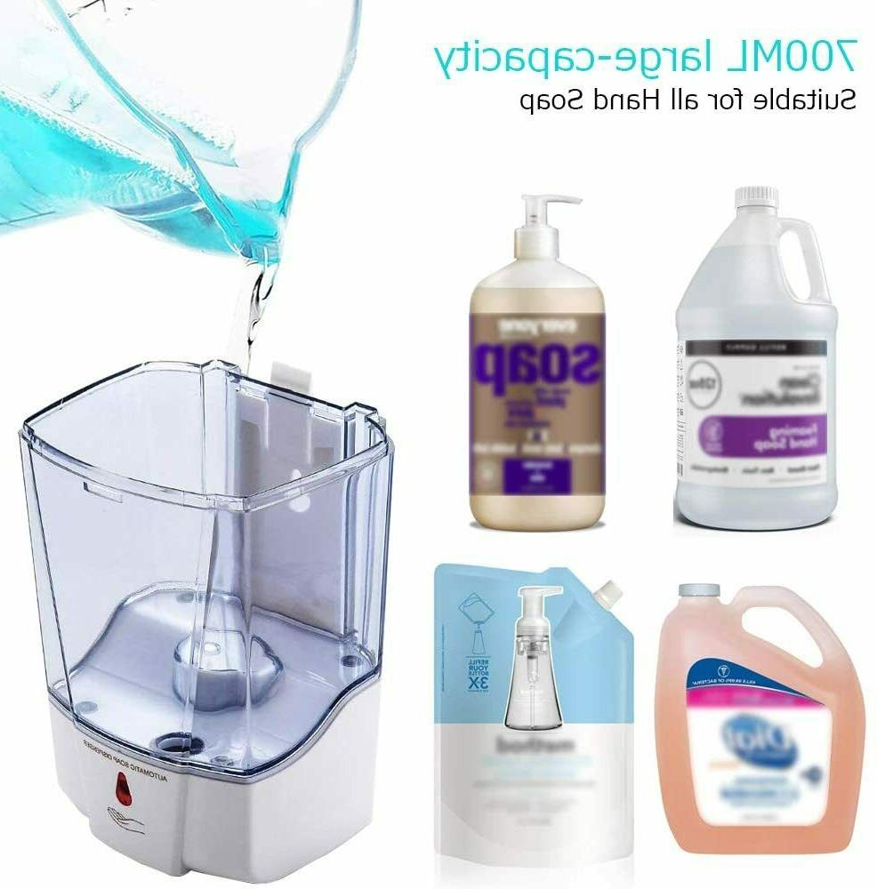 700ML Touchless Mounted Automatic Soap Motion