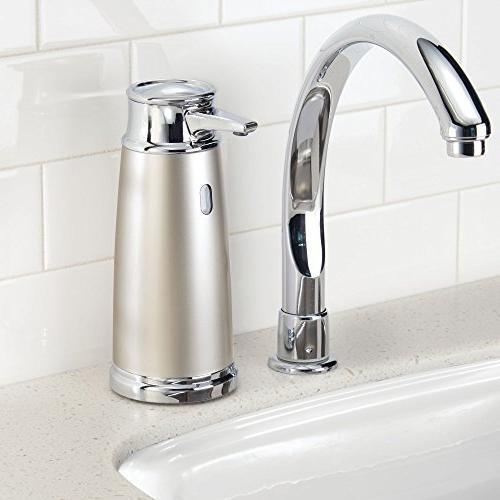 InterDesign 79045 Euro Free Touchless Liquid with Motion Kitchen Satin/Chrome