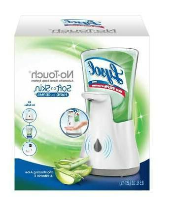 Lysol No-Touch Hand Soap Kit , Moisturizing Aloe & Vitamin E