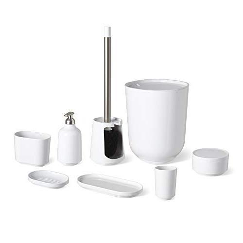 Step Soap Pump Umbra, Bathroom Dispenser, Finish