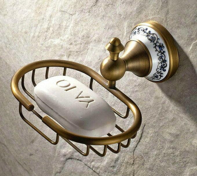 Antique Ceramic Accessories Bath Towel Bar S011