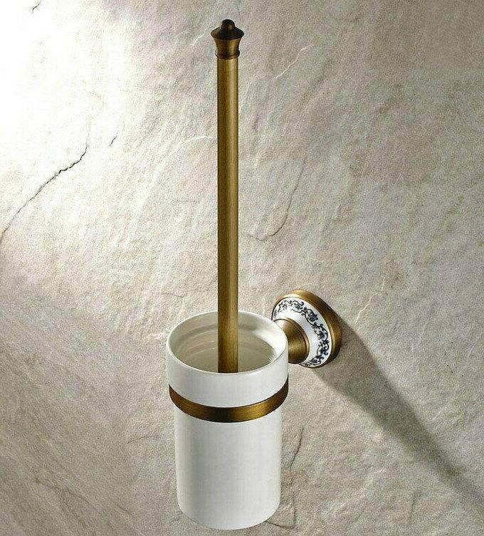 Antique Brass Accessories Set Bath Towel Bar S011