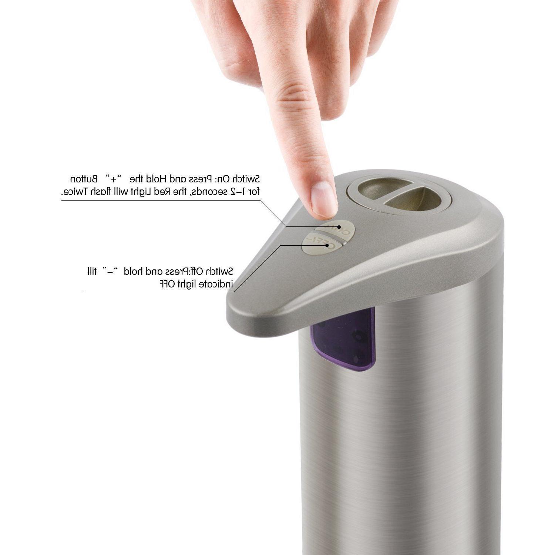OPERNEE Resistant Stainless Soap Dispenser