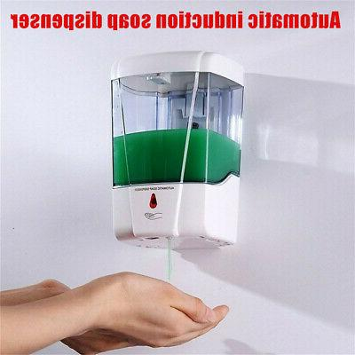 Automatic Liquid Soap Dispenser 700ML Touchless Sensor Wall