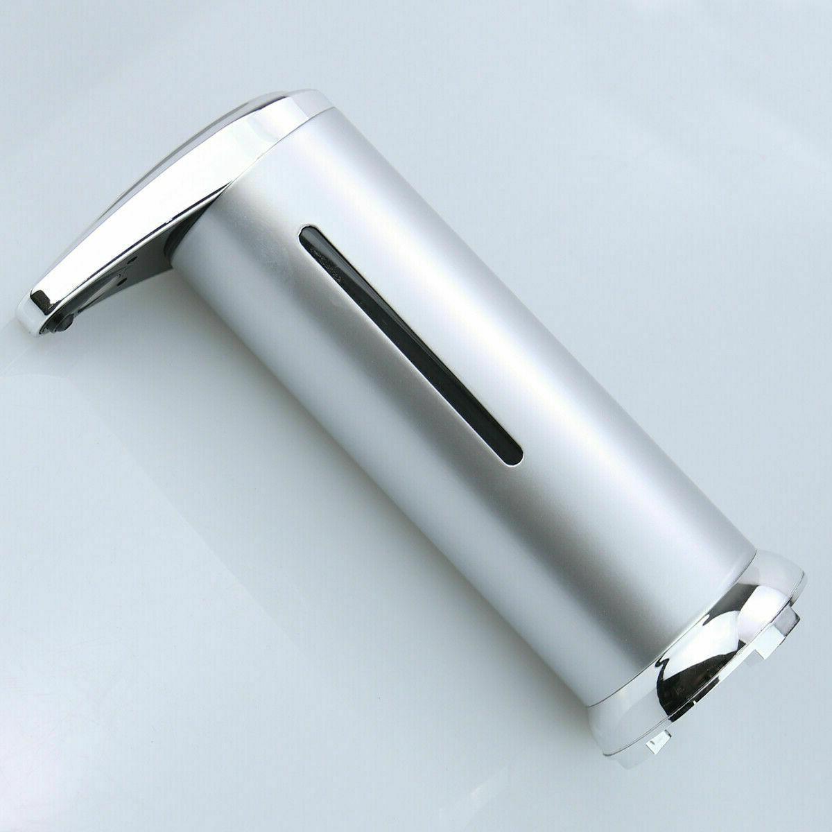 Automatic Liquid Dispenser Sanitizer Sensor Kitchen Free IR