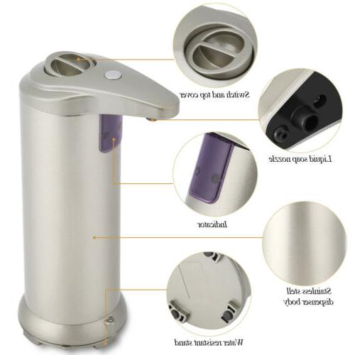 Automatic Sensor Touchless Stainless