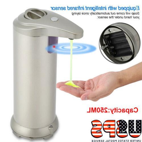 automatic soap dispenser auto sensor touchless soap
