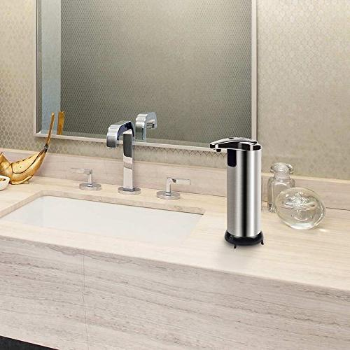 Century Automatic Dispenser, Stainless Touchless Soap Free Sensor for and Bathroom