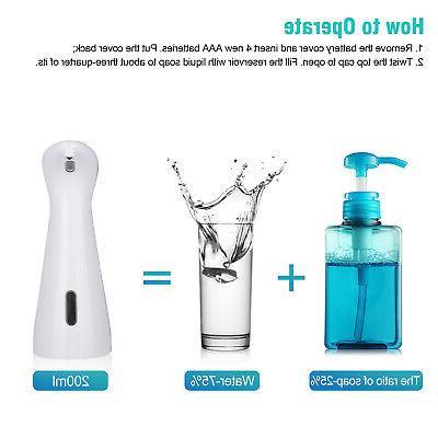 Automatic Soap Dispenser IR Dish Auto