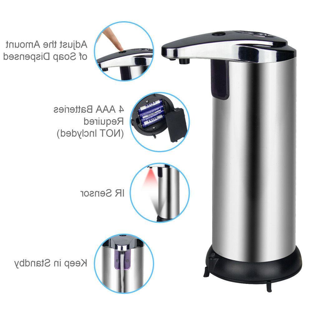 Automatic Dispenser Kitchen Touchless IR Sensor Soap