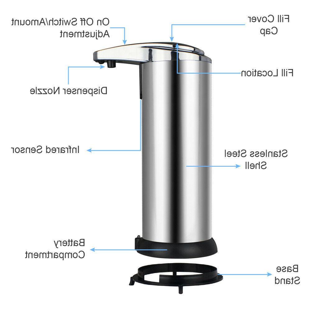 Automatic Soap Dispenser Touchless Handsfree Soap