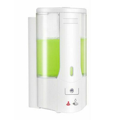 Automatic Dispenser Sanitizer Hands-Free Kitchen Bath