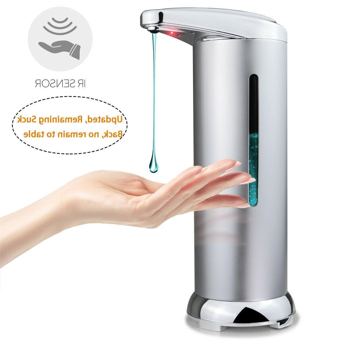 automatic soap dispenser touchless electric soap dispenser