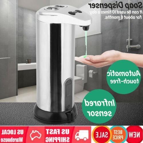 automatic soap dispenser touchless ir sensor liquid