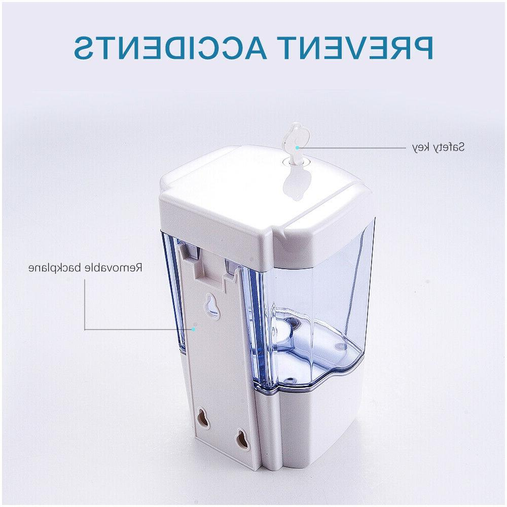 Automatic Soap Dispenser Mount Soap Dispenser Liquid/Gel Handfree